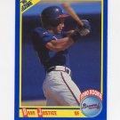 1990 Score Baseball #650 David Justice RC - Atlanta Braves