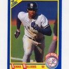 1990 Score Baseball #619 Bernie Williams RC - New York Yankees