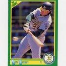 1990 Score Baseball #168B Ron Hassey - Oakland A's (COR)
