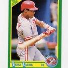 1990 Score Baseball #155 Barry Larkin - Cincinnati Reds
