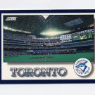 1994 Score Baseball #330 Toronto Blue Jays Team Checklist