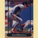 1992 Leaf Baseball Gold Rookies #BC21 Gary DiSarcina - California Angels