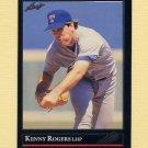 1992 Leaf Baseball Black Gold #173 Kenny Rogers - Texas Rangers