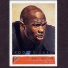 2001 Topps Gallery Football #140 Chad Johnson RC - Cincinnati Bengals
