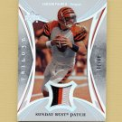 2007 Upper Deck Trilogy Sunday Best Jersey Patch #CP Carson Palmer Game-Used Jersey Patch /79