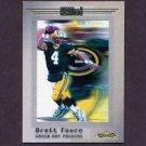 2001 Fleer Showcase Football #104 Brett Favre AC - Green Bay Packers