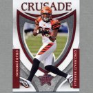 2007 Leaf Rookies and Stars Football Crusade Red #13 Chad Johnson - Cincinnati Bengals /1000