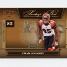 2006 Donruss Classics Sunday's Best Bronze #10 Chad Johnson - Cincinnati Bengals /1000