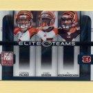 2008 Donruss Elite Football Elite Teams #03 Carson Palmer / Chad Johnson / T.J. Houshmandzadeh /800