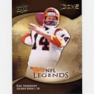 2009 Upper Deck Icons Football #178 Ken Anderson - Cincinnati Bengals /599