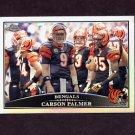 2009 Topps Chrome Football Refractors #TC014 Carson Palmer - Cincinnati Bengals