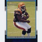 2001 Bowman Football #193 Rudi Johnson RC - Cincinnati Bengals