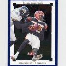 2002 Fleer Premium Football #120 Chad Johnson - Cincinnati Bengals