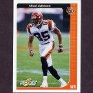 2002 Score Football #050 Chad Johnson - Cincinnati Bengals