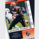 2003 Playoff Contenders Football #068 Chad Johnson - Cincinnati Bengals