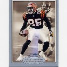 2003 Fleer Showcase Football #082 Chad Johnson - Cincinnati Bengals