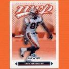 2003 Upper Deck MVP Silver Football #320 Chad Johnson - Cincinnati Bengals