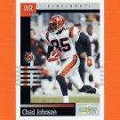 2003 Score Football #020 Chad Johnson - Cincinnati Bengals