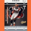 2004 Fleer Authentix Football #009 Chad Johnson - Cincinnati Bengals