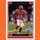 2006 Topps Football #296 Chad Johnson AP - Cincinnati Bengals