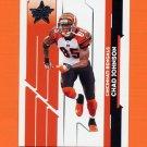 2006 Leaf Rookies And Stars Football #022 Chad Johnson - Cincinnati Bengals