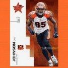 2007 Leaf Rookies and Stars Football #069 Chad Johnson - Cincinnati Bengals