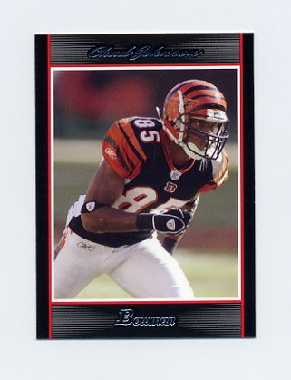 2007 Bowman Football #061 Chad Johnson - Cincinnati Bengals