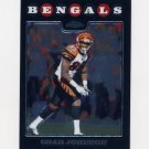2008 Topps Chrome Football #TC083 Chad Johnson - Cincinnati Bengals