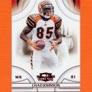 2008 Donruss Threads Retail Red #007 Chad Johnson - Cincinnati Bengals