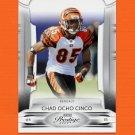 2009 Playoff Prestige Football #021 Chad Ocho Cinco Johnson - Cincinnati Bengals