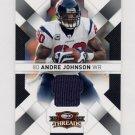2009 Donruss Threads Jerseys #38 Andre Johnson - Houston Texans Game-Used Jersey /250