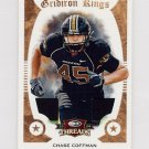 2009 Donruss Threads College Gridiron Kings Materials #11 Chase Coffman RC - Game-Used Jerseys /250