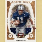 2009 Donruss Threads Pro Gridiron Kings Materials #13 Danny White - Game-Used Jerseys /250