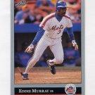 1992 Leaf Baseball #396 Eddie Murray - New York Mets