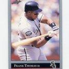 1992 Leaf Baseball #349 Frank Thomas - Chicago White Sox