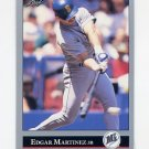 1992 Leaf Baseball #197 Edgar Martinez - Seattle Mariners