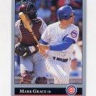 1992 Leaf Baseball #026 Mark Grace - Chicago Cubs