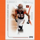 2004 Playoff Prime Signatures Silver Proofs #020 Chad Johnson - Cincinnati Bengals 01/25
