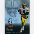 2006 Flair Showcase Football #035 Brett Favre - Green Bay Packers