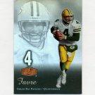 2006 Flair Showcase Football #035 Brett Favre - Green Bay Packers ExMt