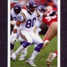 1994 Fleer Football #289 Cris Carter - Minnesota Vikings