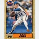 1987 Topps Traded Baseball #024T David Cone RC - New York Mets
