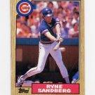 1987 Topps Baseball #680 Ryne Sandberg - Chicago Cubs