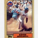 1987 Topps Baseball #653 Kevin Mitchell RC - New York Mets
