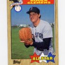1987 Topps Baseball #614 Roger Clemens AS - Boston Red Sox