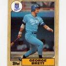 1987 Topps Baseball #400 George Brett - Kansas City Royals