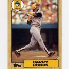 1987 Topps Baseball #320 Barry Bonds RC - Pittsburgh Pirates