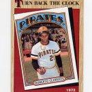1987 Topps Baseball #313 Roberto Clemente TBC - Pittsburgh Pirates
