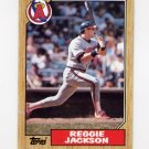 1987 Topps Baseball #300 Reggie Jackson - California Angels