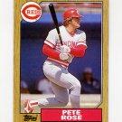 1987 Topps Baseball #200 Pete Rose - Cincinnati Reds